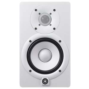 Yamaha HS5W 5 Inch Powered Studio Monitor in White