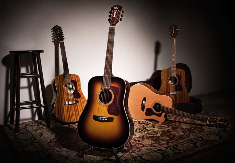 Guild launches the new Westerly Collection, a line of all-solid and arched back acoustic guitars that honor Guild's early history.