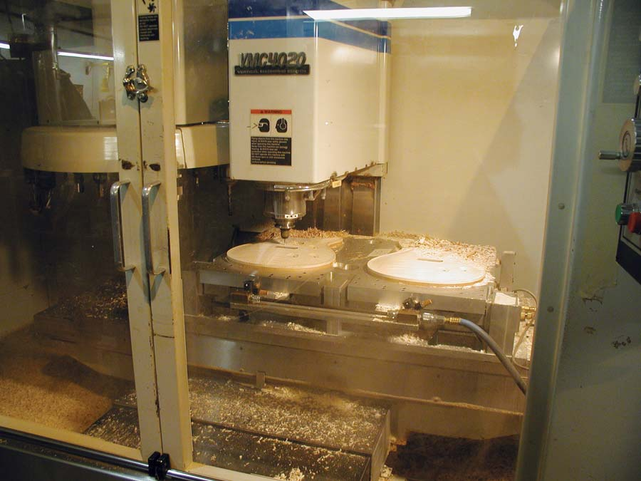 1990: First CNC Machine