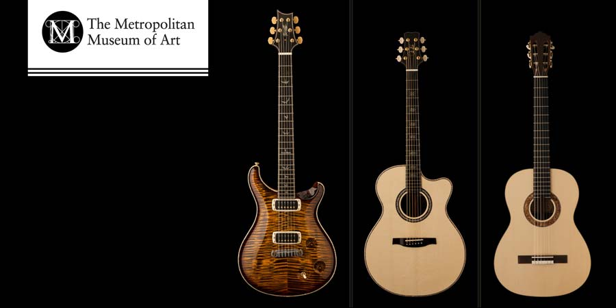 2013: PRS Electric and Acoustic Guitar added to The Met's Permanent Collection