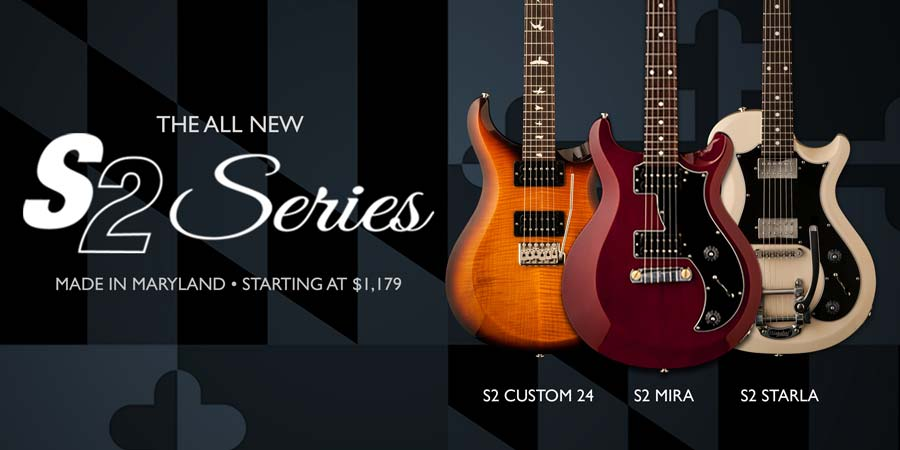 2013: PRS Introduces S2 Series