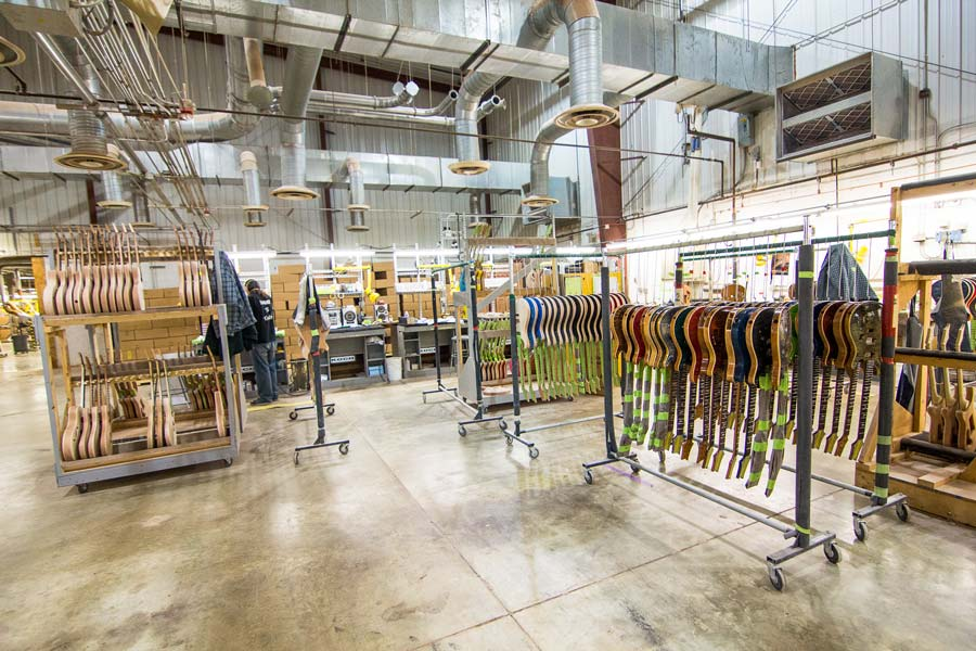 2015: PRS Re-Opens Public Factory Tours for 30th Anniversary