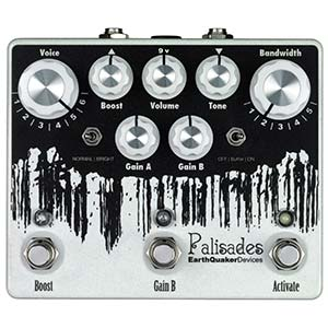 EarthQuaker Devices Palisades Overdrive Pedal