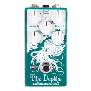 EarthQuaker Devices The Depths Optical Vibe Guitar Pedal