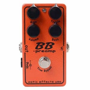 Xotic Effects BB Preamp Guitar Distortion Pedal