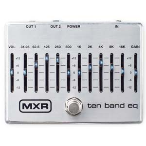 MXR M108S Ten Band EQ Pedal