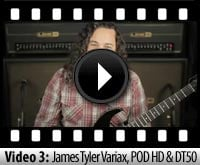 Line 6 James Tyler Variax, POD HD and DT50