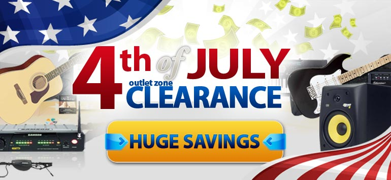4th of July Outlet Zone Clearance