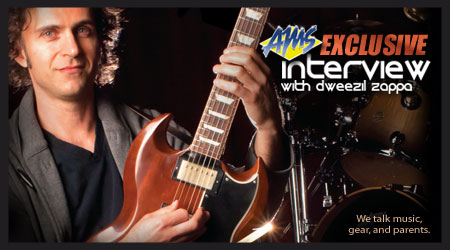 Exclusive interview with Dweezil Zappa