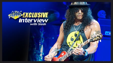 Exclusive Interview with Slash