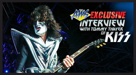 Exclusive interview with Tommy Thayer