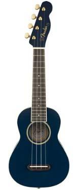 Fender Grace VanderWaal Moonlight Soprano Uke Navy
