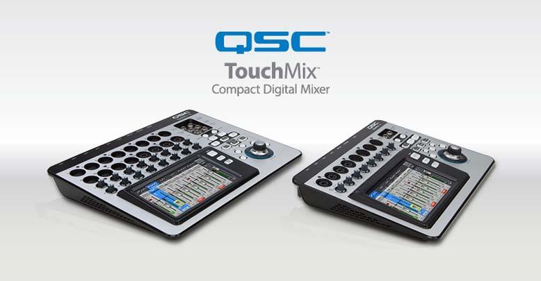 QSC Mixers