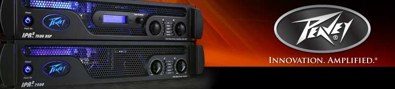 Peavey Powered Amplifiers