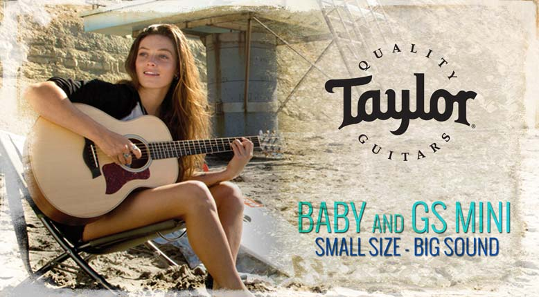 taylor baby gs mini taylor guitars american musical supply. Black Bedroom Furniture Sets. Home Design Ideas