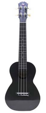 Vorson AUG ABS Concert Ukulele Black