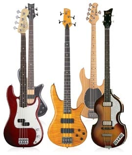 Electric Bass Guitar Starter Packages