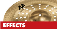 Sabian Special Effect Cymbals