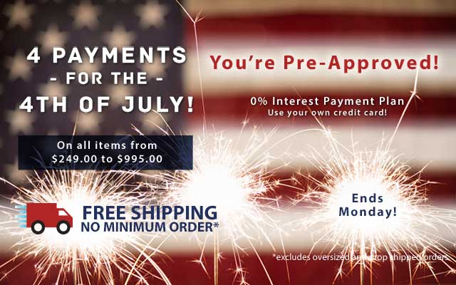 4 Payments for the 4th