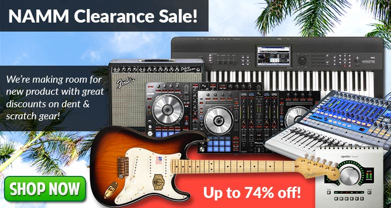 NAMM Clearance Sale