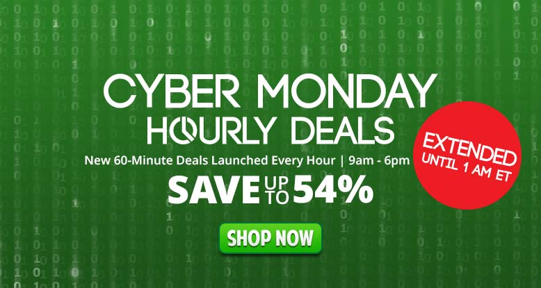 Cyber Monday Deals Extended