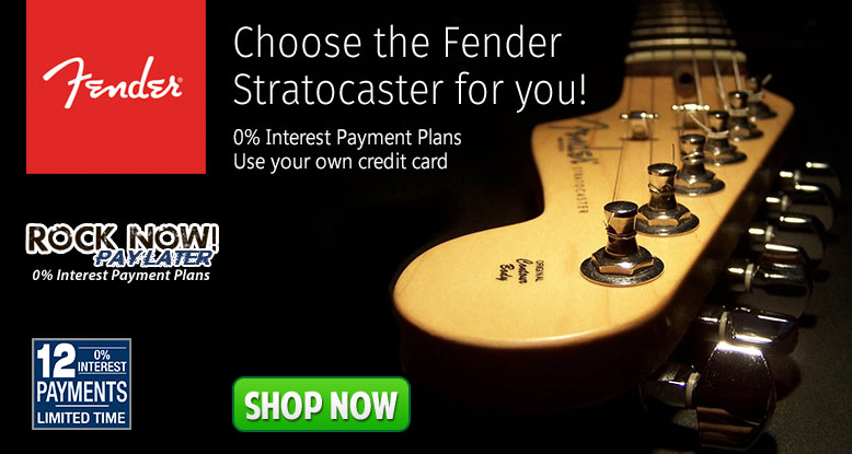 Choose the Fender Stratocaster for you