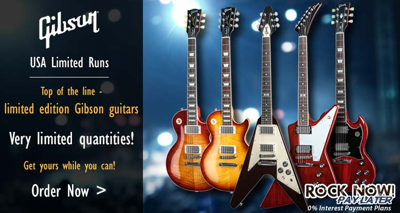 Gibson USA Limited Run Guitars