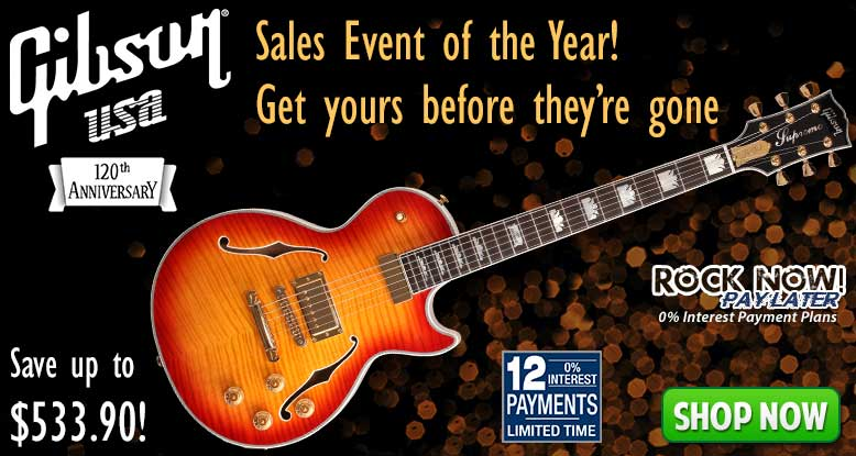 Gibson Sales Event