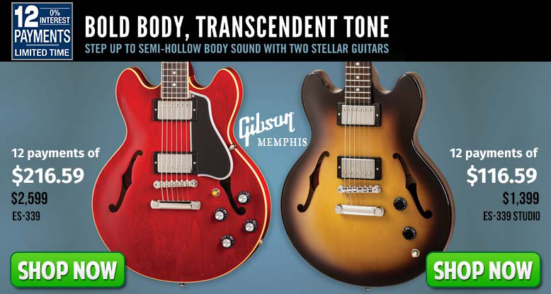 Gibson Semi-Hollow Body