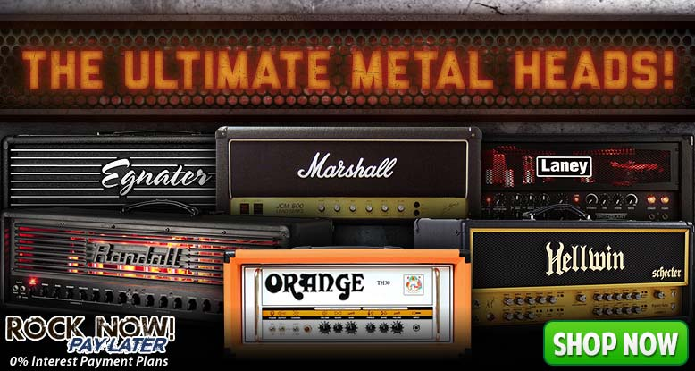 Amps For The Ultimate Metal Heads