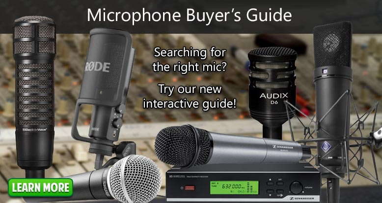 Microphone Buyer's Guide