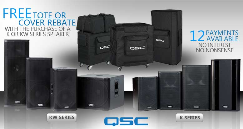 QSC K or KW Series Speaker