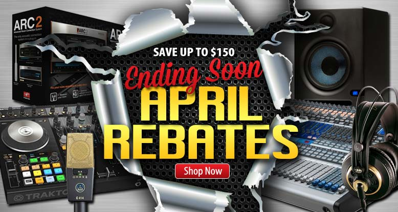 New April Rebates