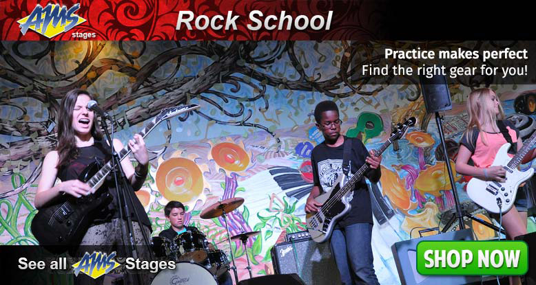 AMS Stages - Time To Go To School - Rock School