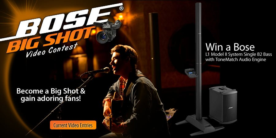 Bose Big Shot Video Contest