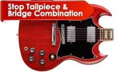 Stop Tailpiece & Bridge Combination
