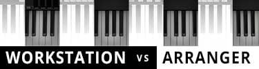 Workstation vs Arranger