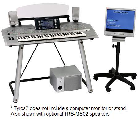 Yamaha Tyros2 61 Key Arranger Workstation Keyboard