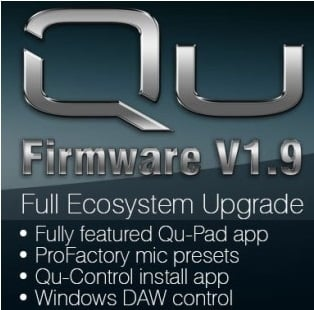 Qu Firmware 1.9 Update