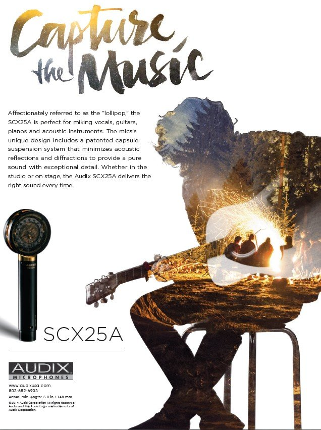 Audix SCX25A Capture the Music