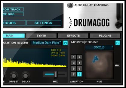 gratis plugin drumagog