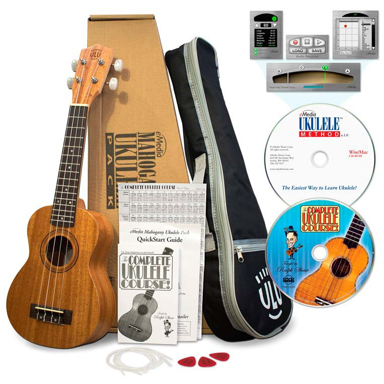 Emedia Ukulele Package