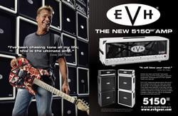 EVH Eddie Van Halen 5150 III Guitar Amplifier Ad