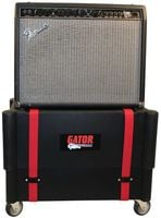Combo Amps Sit Perfectly Atop the Transporter Case. Get Extra Height at Your Live Gigs!