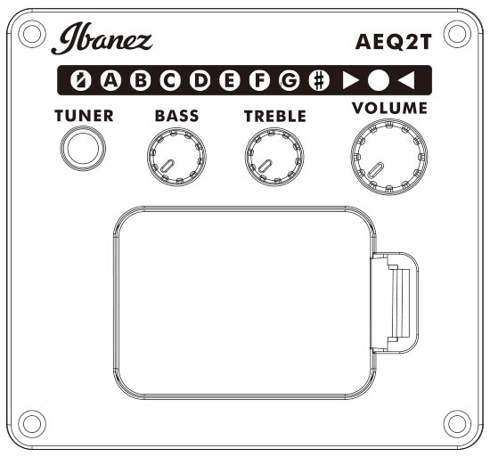 Ibanez AEQ2T Preamp