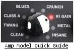 Amp Model Quick Guide