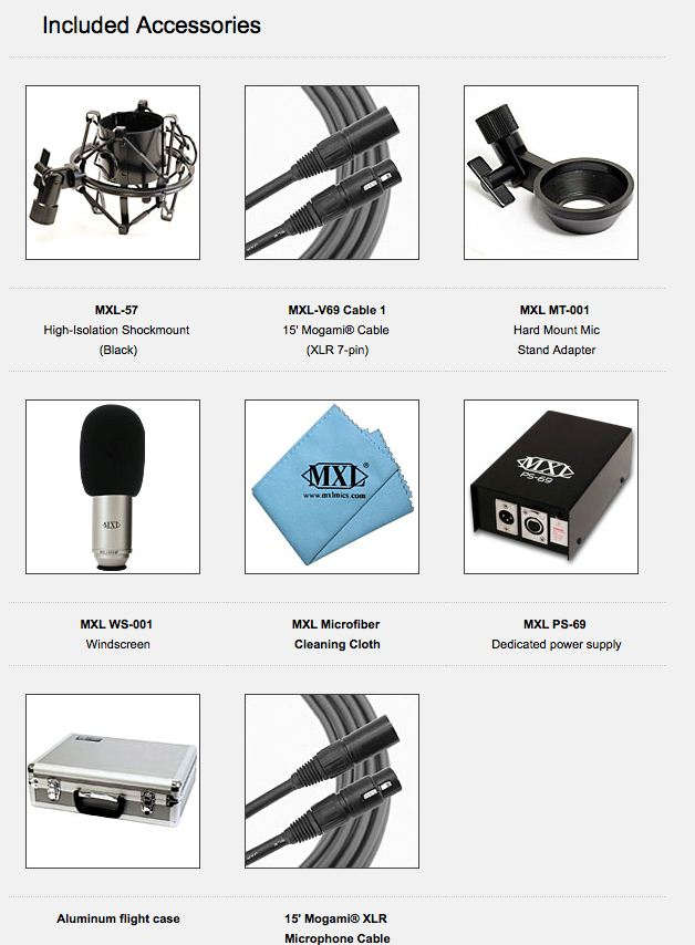 MXLV69ME Accessories