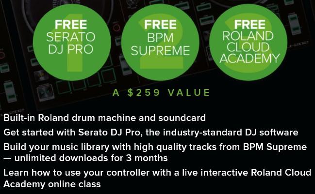 Roland DJ202 Serato Free