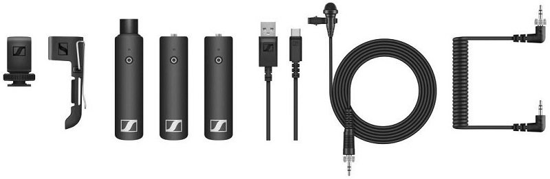 Sennheiser SXW-D Portable ENG Set Includes