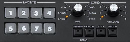 SV1 Controls Favorite Sounds